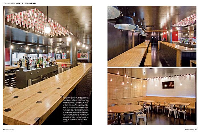 Imagen del proyecto Nicky's Food & Drinks en PROYECTO CONTRACT 101