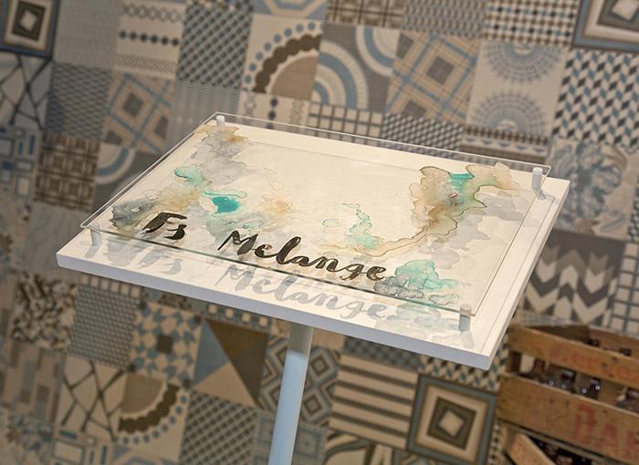 Imagen de la presentación de la colección Melange.