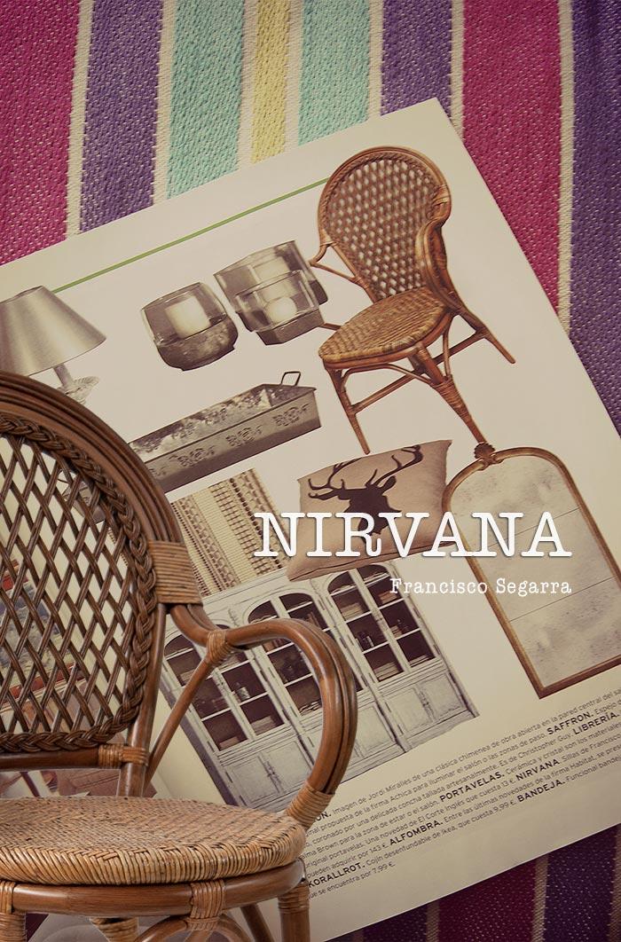 Imagen de la noticia sobre los omplementos decoración vintage online. Sillas Nirvana.