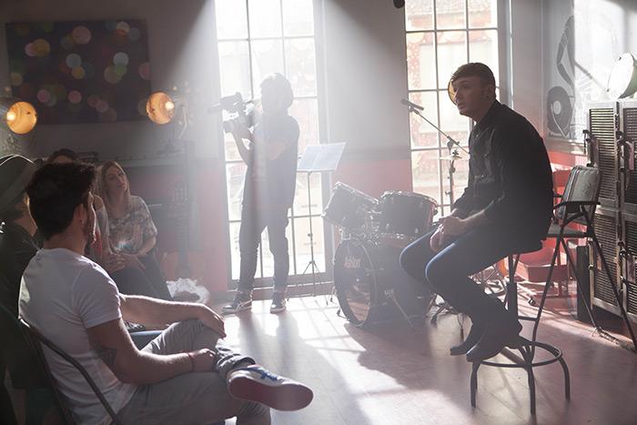 Fotos del rodaje de Dreamland, serie de fición de Cuatro.