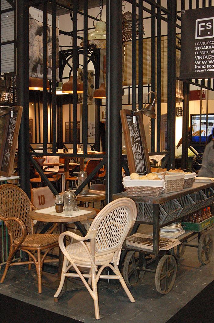 Imagen de los muebles para hostelería de Francisco Segarra en Hotelympia.