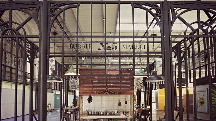 Noticia sobre muebles vintage & industrial Francisco Segarra en Alimentaria.