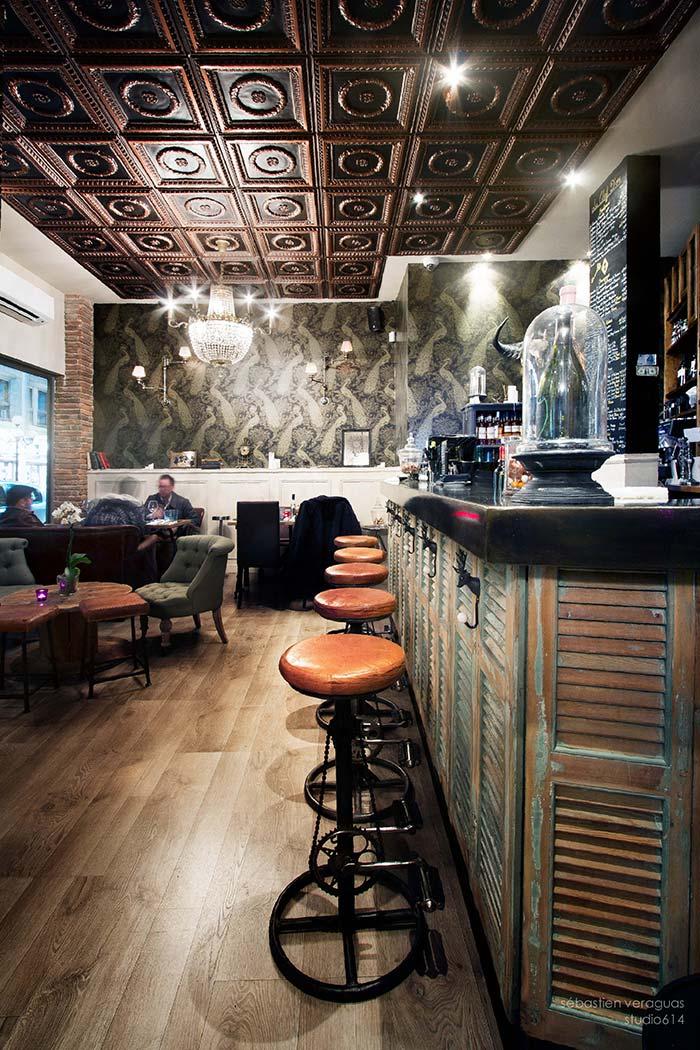 Decoraci n estilo industrial restaurante la clef d 39 or niza - Segarra muebles ...