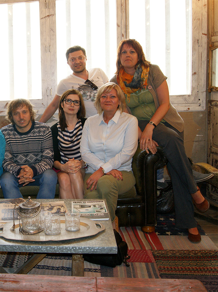 Expertos del interiorismo visitan nuestro showroom de Francisco Segarra.