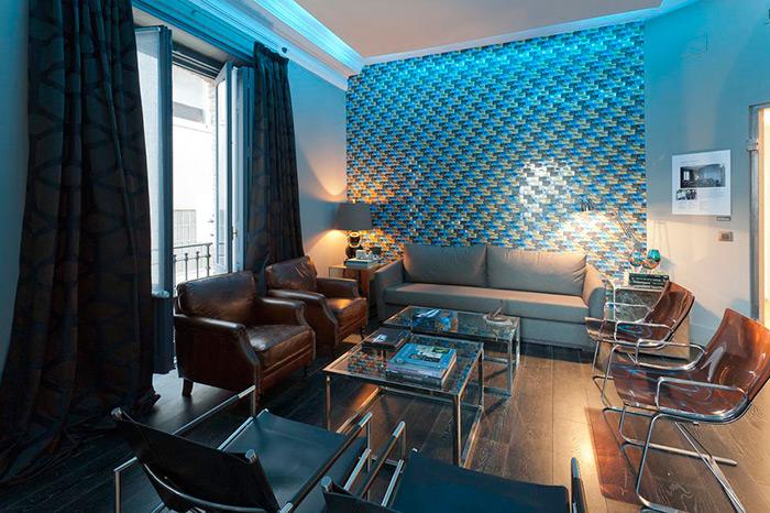 Imagen del mobiliario de Francisco Segarra en el espacio Barclays de Casa Decor.
