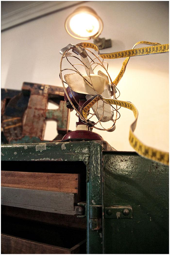 Imagen de los Objetos antiguos para decoración vintage.