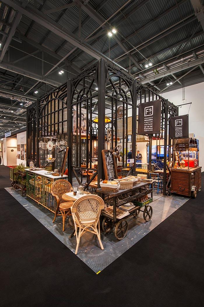Imágen del Stand de la tienda de muebles Francisco Segarra en Hotelympia.