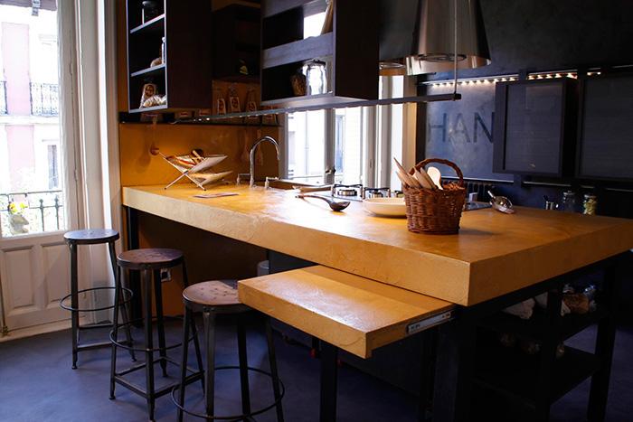 Imagen de muebles de cocina profesionales en Casa Decor.