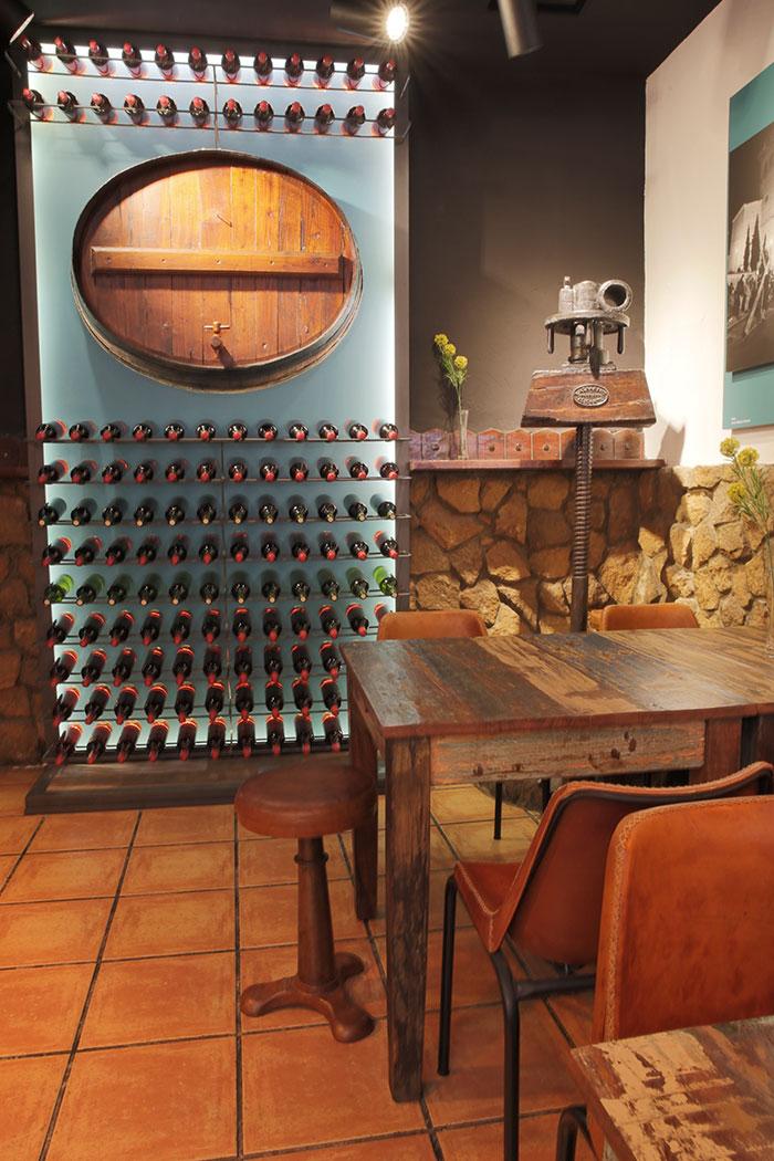 Muebles vintage & industrial para remodelación en bares y restaurantes.