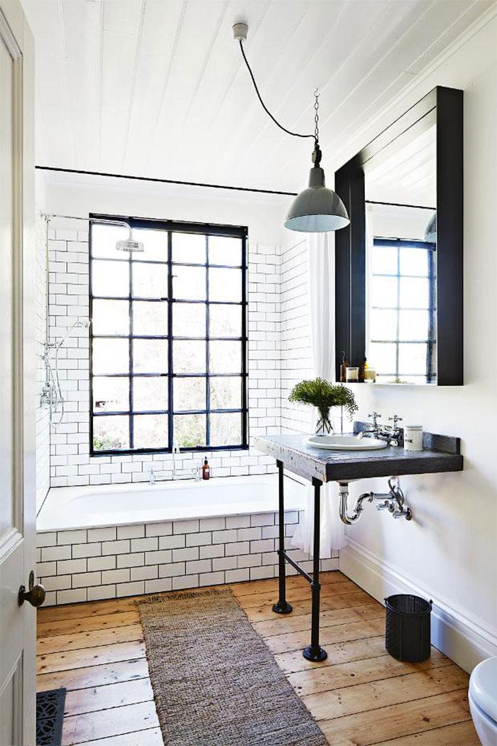 Fotos. Tendencias en baños con decoración industrial.