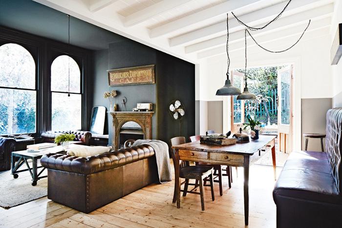Fotos. Hoteles con muebles estilo industrial.