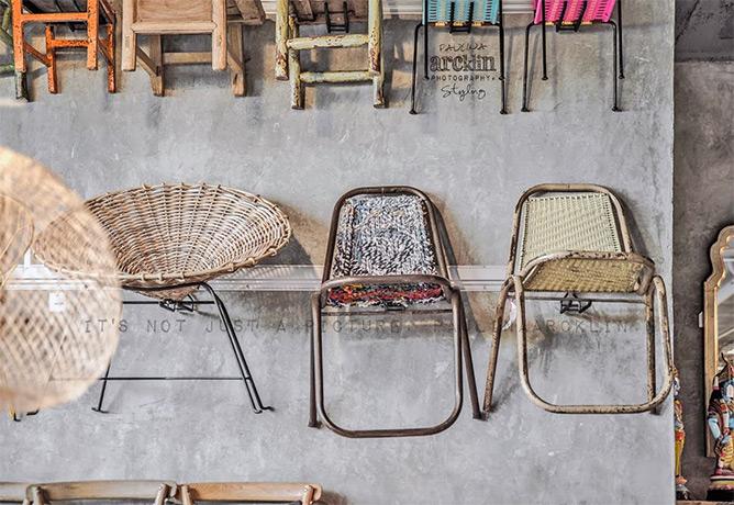 Fotos. Mobiliario para interiorismo comercial.