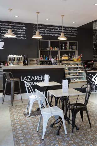 Fotos. Interiorismo y decoración panaderias Lazareno.