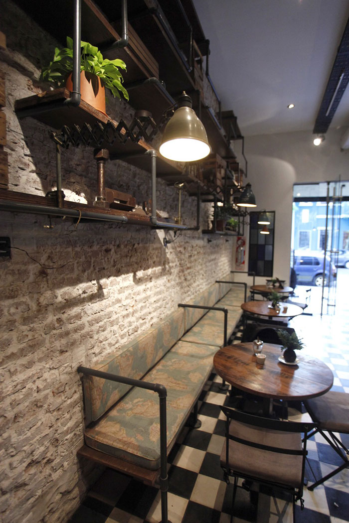 Fotos. Proyectos de interiorismo en cafeterías.