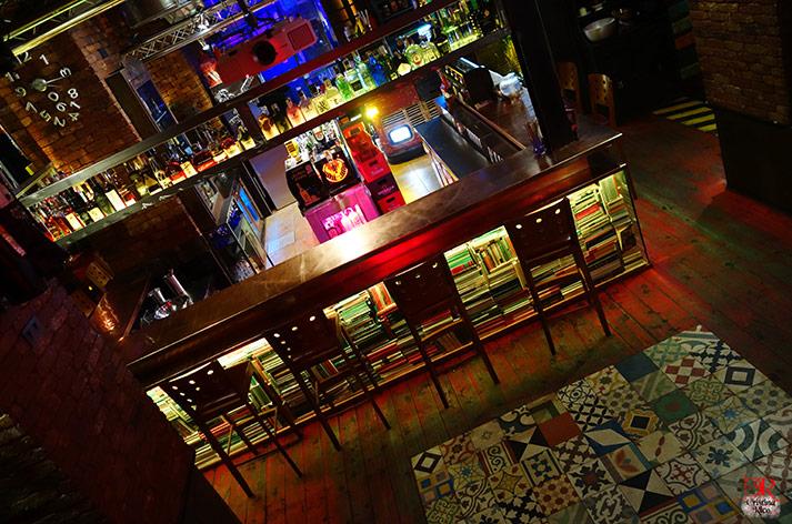 Fotos. Barras de bar para hostelería.