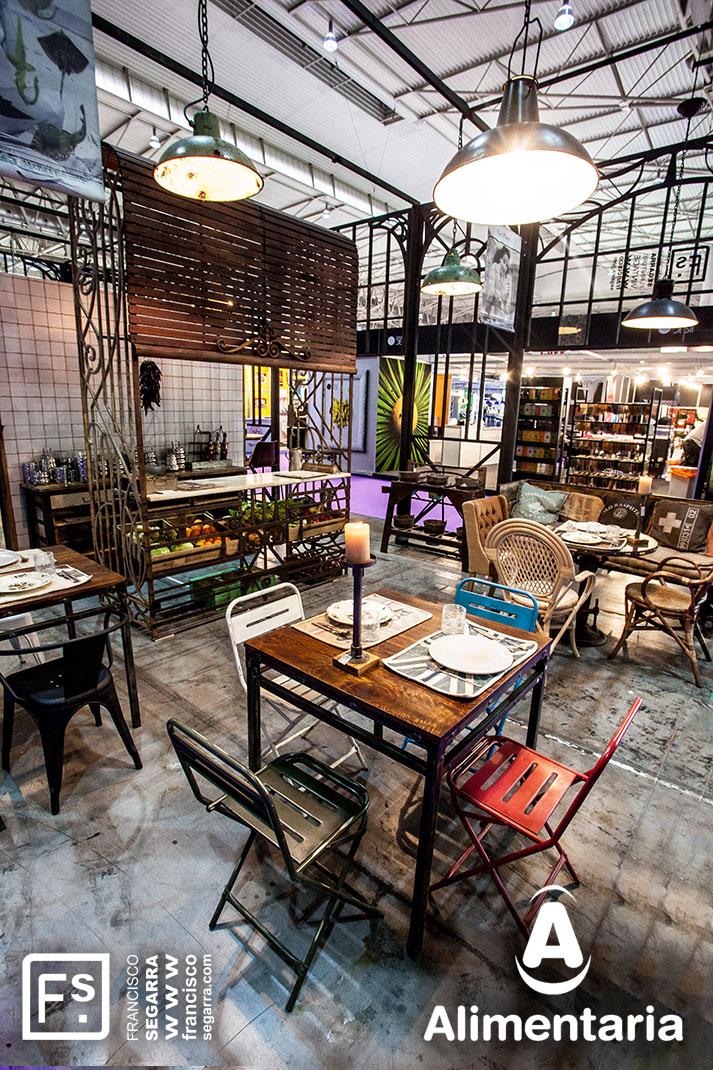 Fotos. Tendencias en interiorismo para hostelería. Alimentaria.