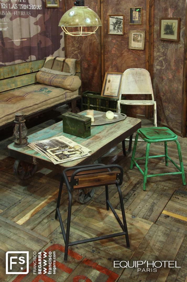 Fotos. Tendencias en interiorismo para hostelería. Equi´hotel.