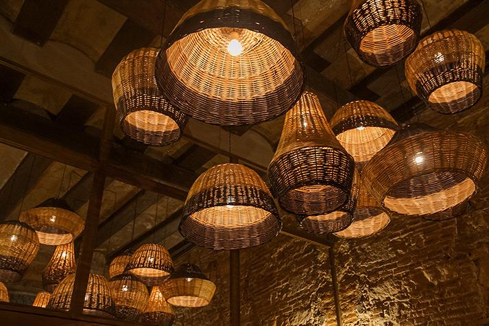 Fotos. Luminarias para interiorismo en hostelería.