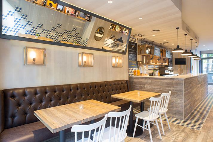 Fotos. Reforma integral cafetería Prandium.