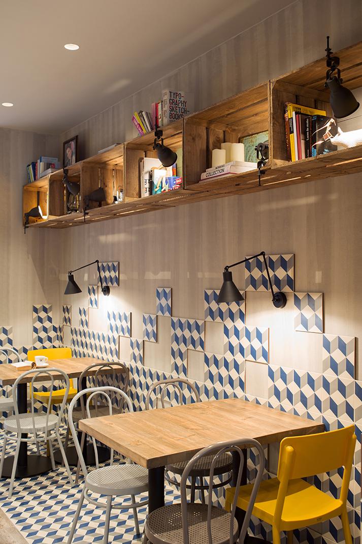 Fotos. Reformas integrales para cafeterías y restaurantes.