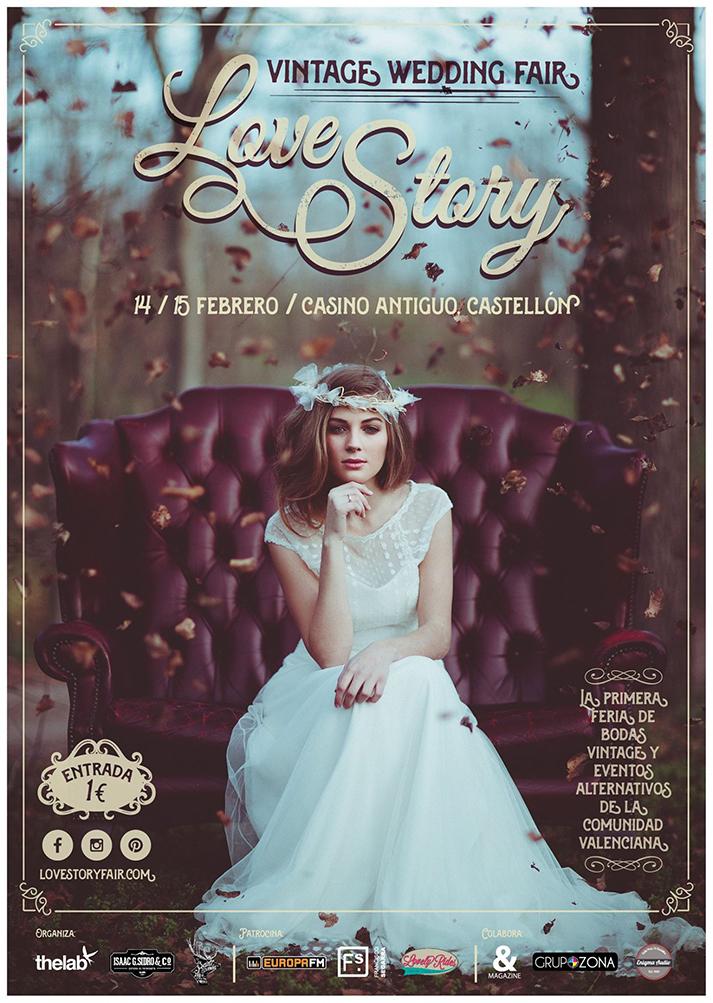 Imagen del cartel oficial de  Love Story Vintage Wedding Fair