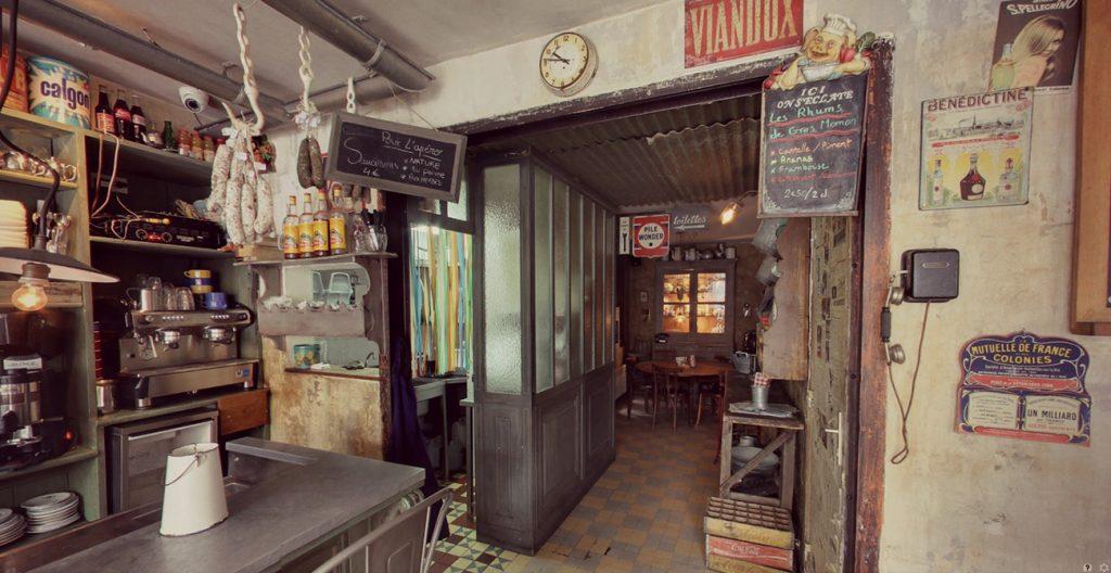 Fotos del diseño interior en L'Epicerie.