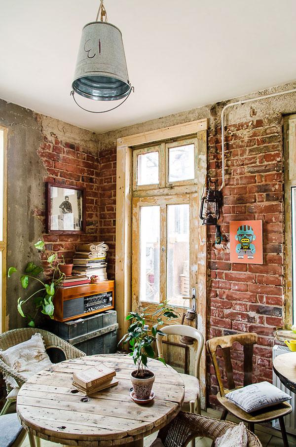 Fotos. Diseño interior en restaurantes vintage.