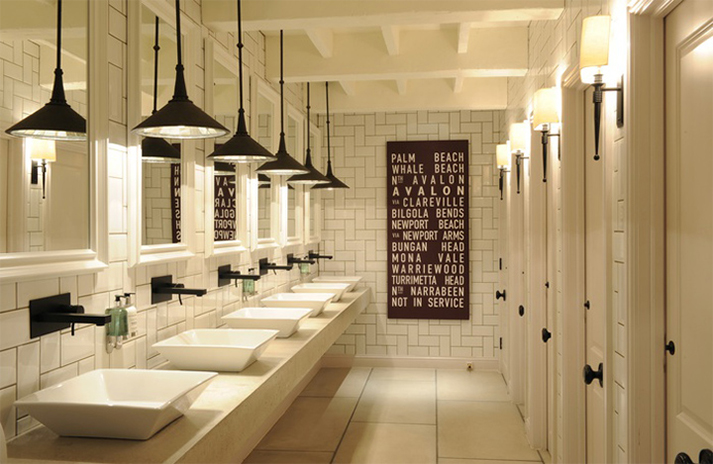 ... Restaurant Interior Design Ideas with Luxury Bathroom Design Ideas