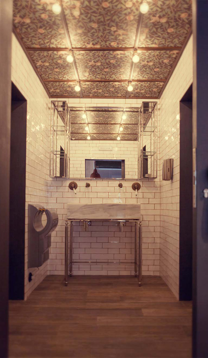Espectaculares decoraciónes de baños para hostelería.