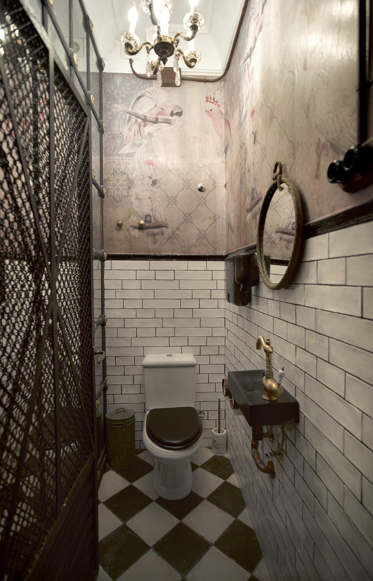 Imágenes de los baños vintage en N5.