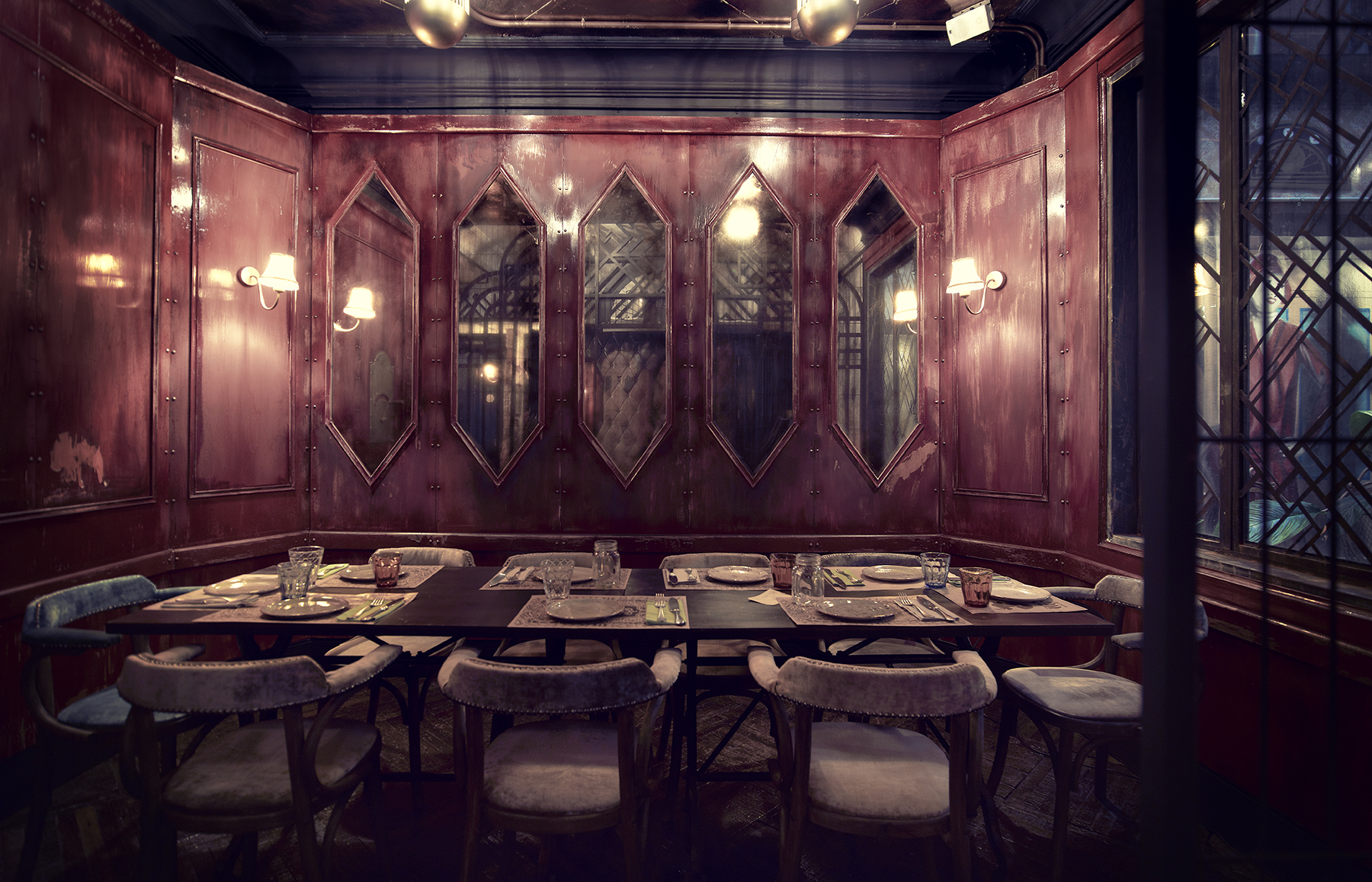 Imágenes de los espacios diseñados por Francisco Segarra en N5.