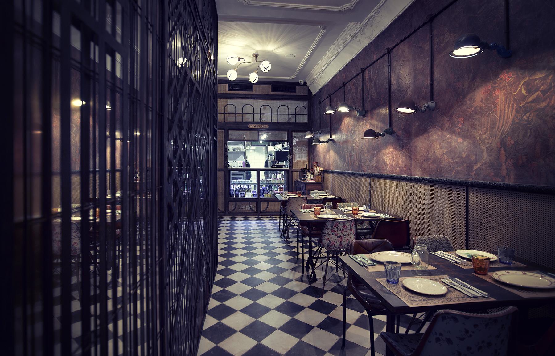 Imágenes. Proyectos de interiorismo para restaurantes. N5.