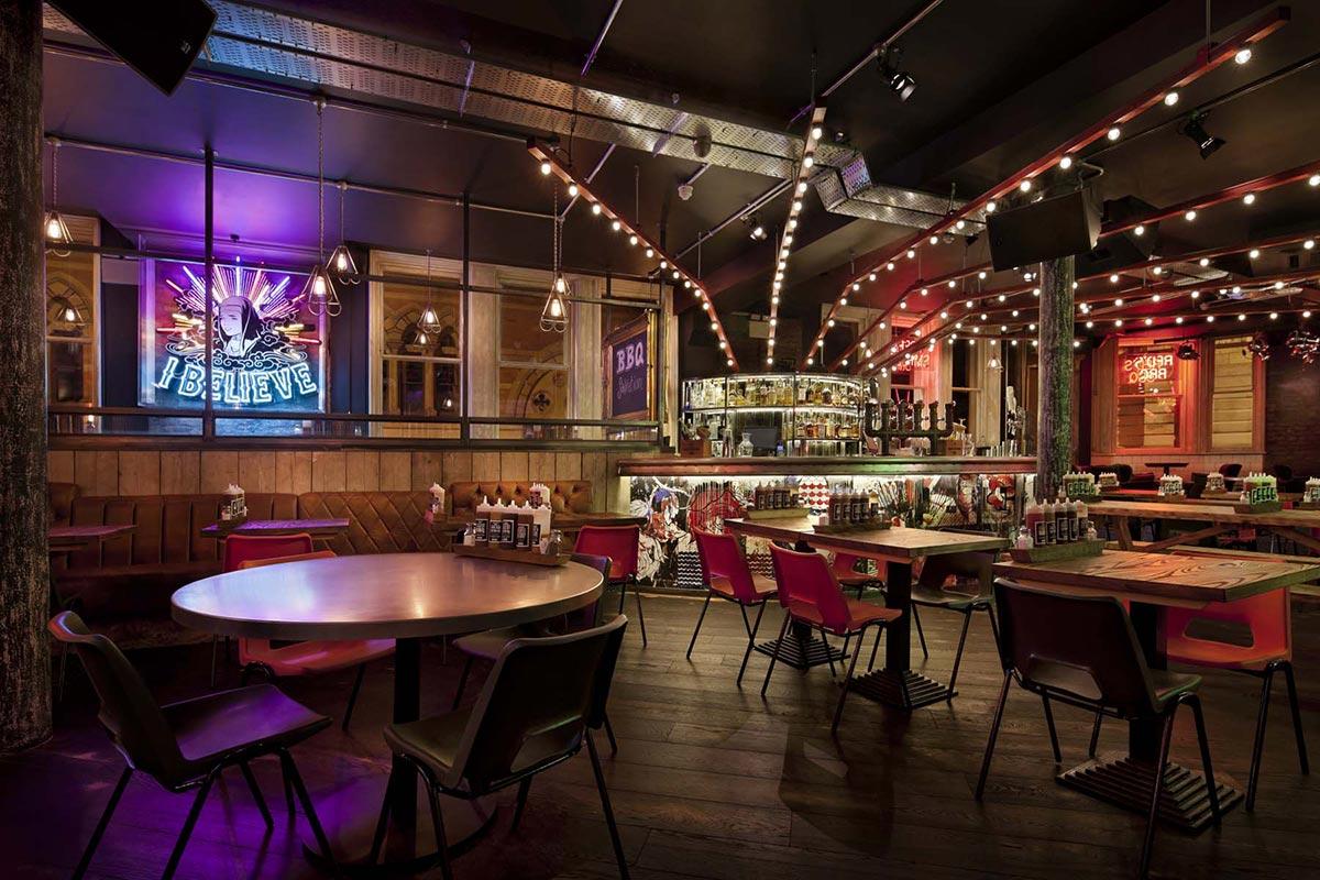 Fotos. Proyectos de interiorismo espectaculares en restaurantes.