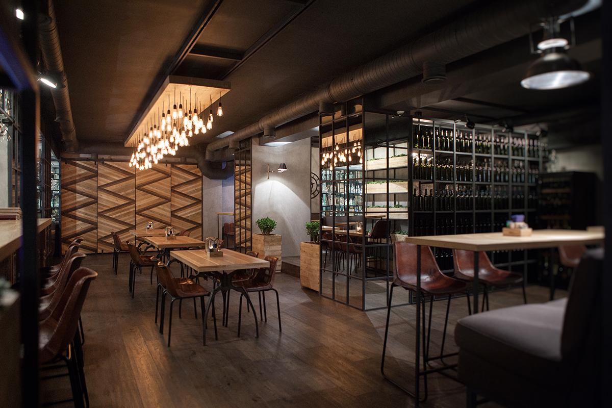 Imágenes del proyecto de interiorismo restaurante Barco.