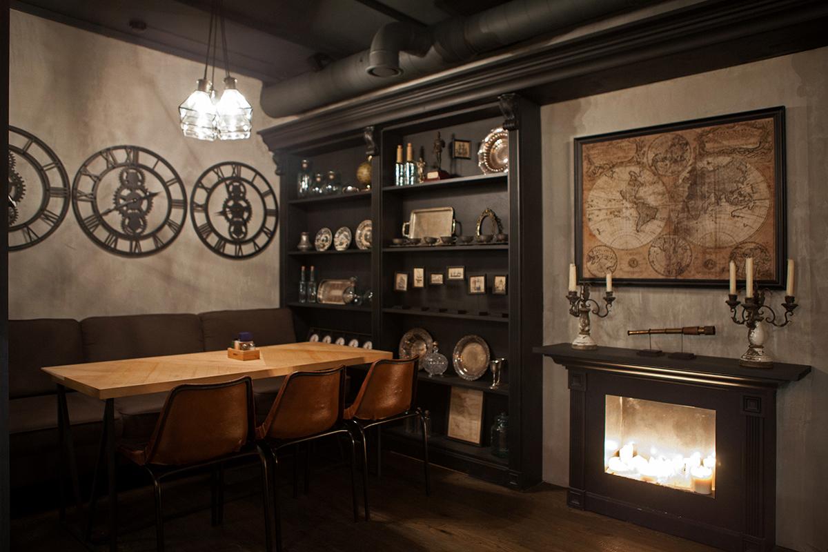Imagen de los elementos decorativos de restaurante Barco.