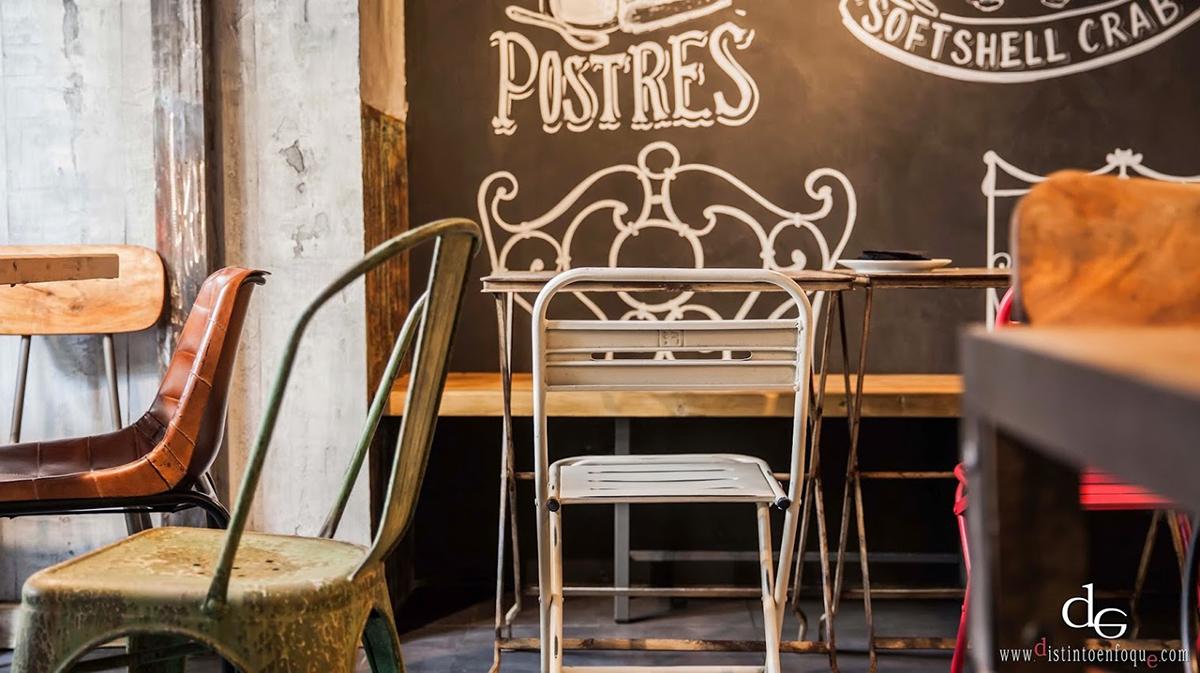 Imágenes del mobiliario para hostelería Francisco Segarra.