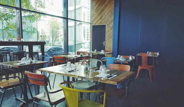 Fotos. Mobiliario de hostelería para restaurantes modernos.