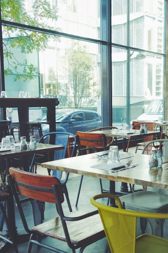 Proyectos de interiorismo profesional for Mobiliario de restaurante