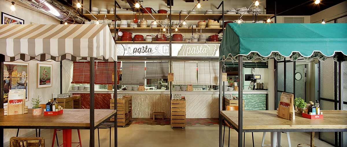 Proyecto del restaurante DAVITA Italian Gastro Market.
