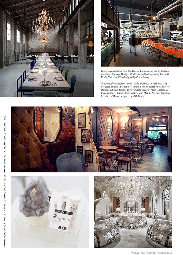 Imágenes. The Journal. Los restaurantes más seductores del mundo.