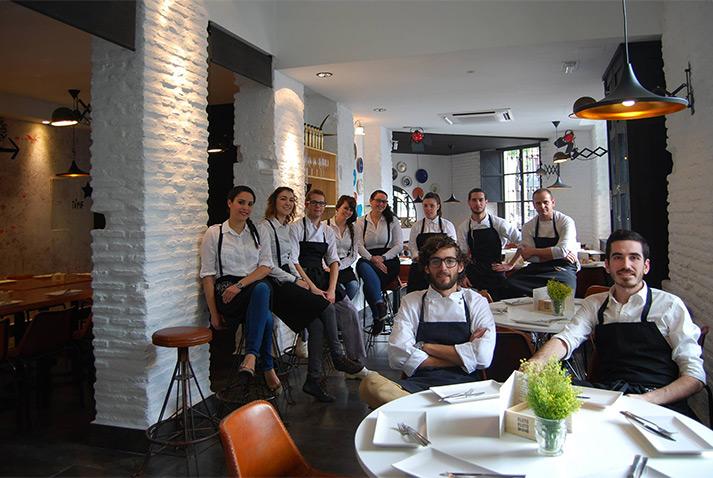 Imagen del equipo de Plato Plató restaurante.