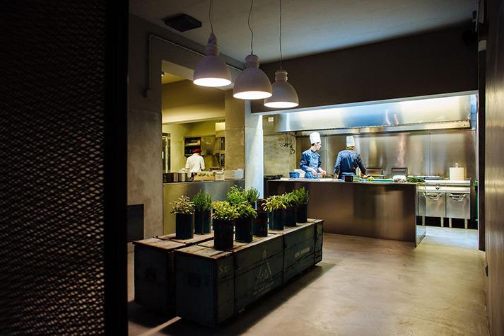 Proyecto de interiorismo restaurant concept. La Ménagère.