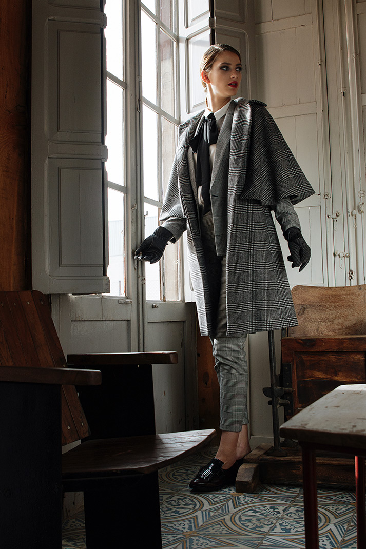 Editorial moda en showroom Francisco Segarra.