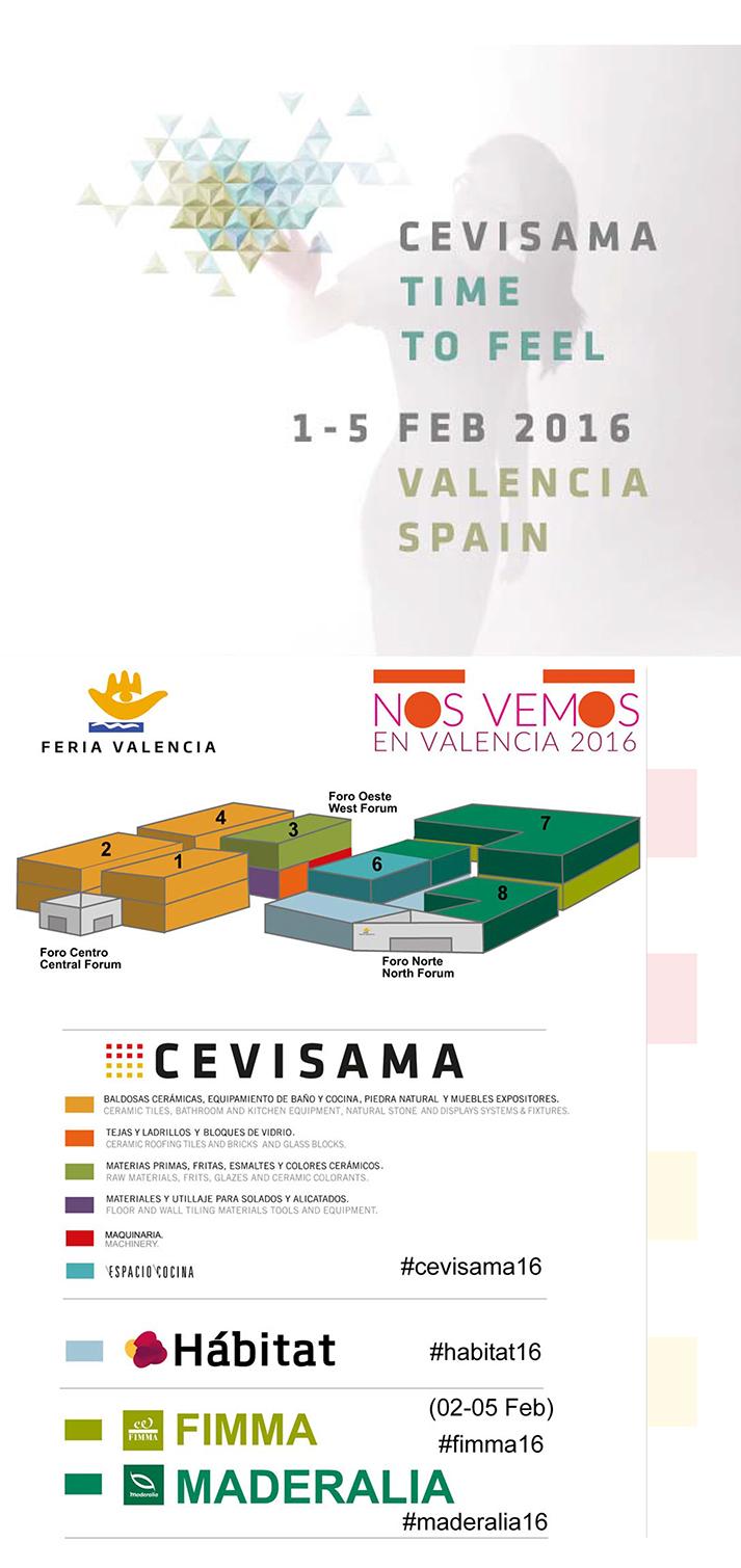 Noticia sobre Cevisama 2016.