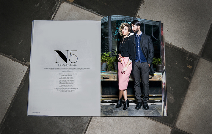 Nº5 Burger en AND MAGAZINE #7.