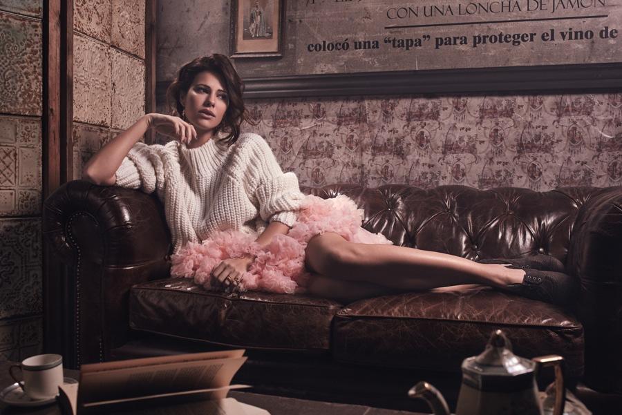 Imágenes del editorial de moda de ABC en el showroom de Francisco Segarra.