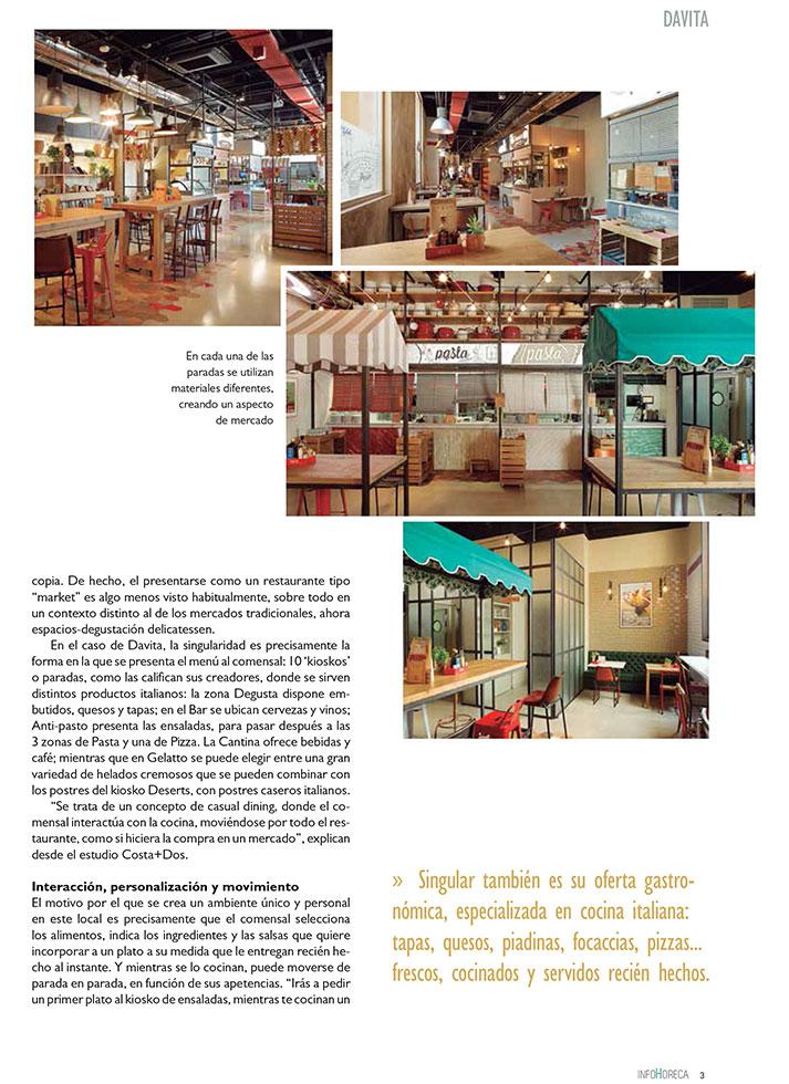InfoHoreca. Proyectos interiorismo y equipamiento hostelería.