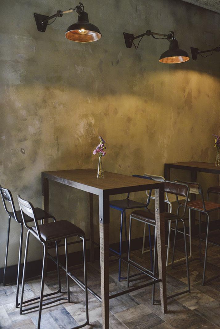 Nueva zona de copas en el restaurante El Refugio.