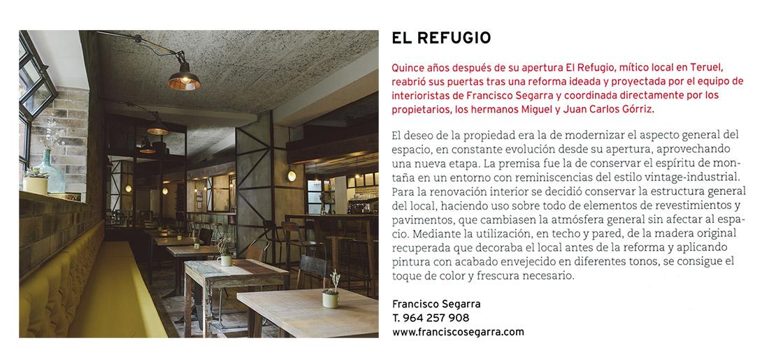 Publicación de la reforma integral El Refugio en Proyecto Contract.