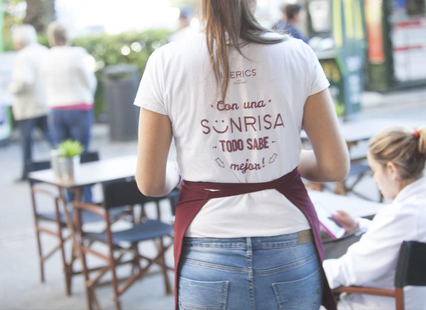 Iberics. Cafetería emergente en Valencia.
